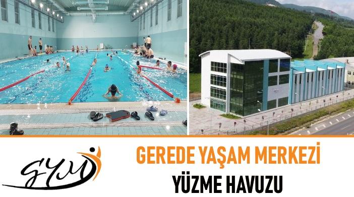 Bolu Gerede Yaşam Merkezi Yüzme Havuzu