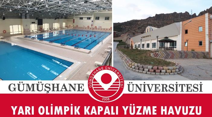 Gümüşhane Üniversitesi Yarı Olimpik Kapalı Yüzme Havuzu