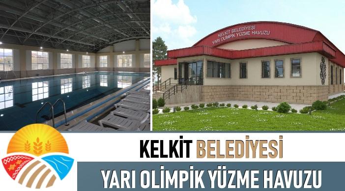 Gümüşhane Kelkit Belediyesi Yarı Olimpik Yüzme Havuzu