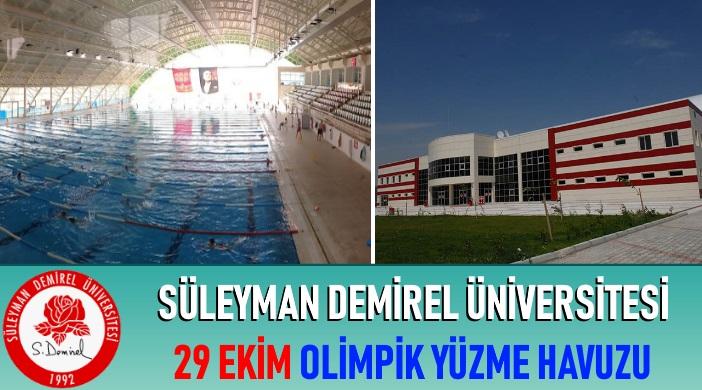 Isparta Süleyman Demirel Üniversitesi 29 Ekim Olimpik Yüzme Havuzu