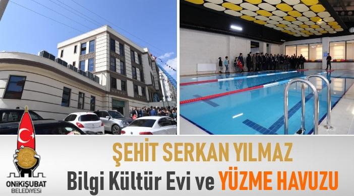 Kahramanmaraş Onikişubat Belediyesi Saçaklızade Mahallesi Şehit Serkan Yılmaz Bilgi Kültür Evi ve Yüzme Havuzu