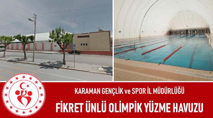 Karaman Fikret Ünlü Olimpik Yüzme Havuzu