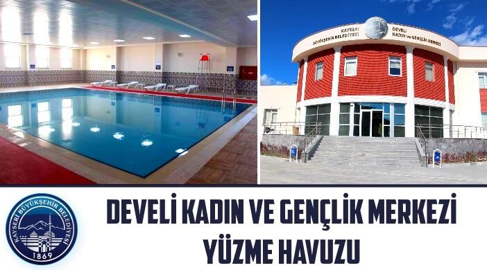 Kayseri Büyükşehir Belediyesi Develi Kadın ve Gençlik Merkezi Yüzme Havuzu
