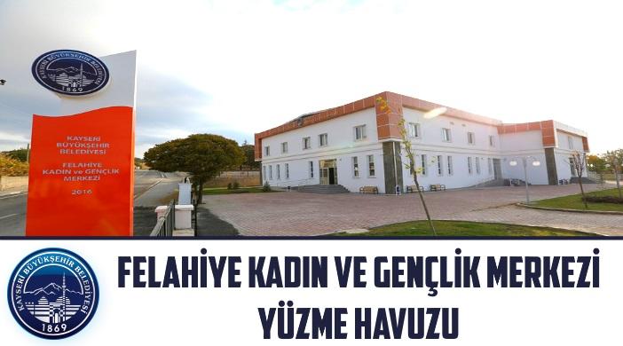 Kayseri Büyükşehir Belediyesi Felahiye Kadın ve Gençlik Merkezi Yüzme Havuzu
