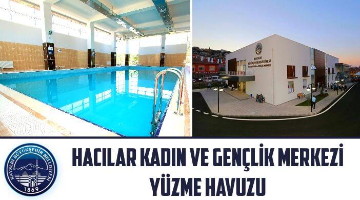 Kayseri Büyükşehir Belediyesi Hacılar Kadın ve Gençlik Merkezi Yüzme Havuzu
