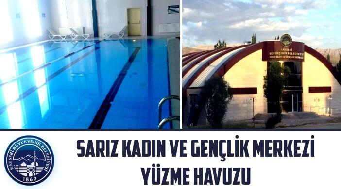 Kayseri Büyükşehir Belediyesi Sarız Kadın ve Gençlik Merkezi Yüzme Havuzu