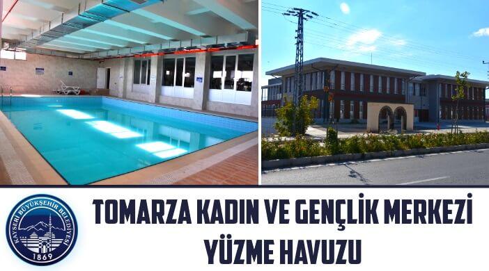 Kayseri Büyükşehir Belediyesi Tomarza Kadın ve Gençlik Merkezi Yüzme Havuzu