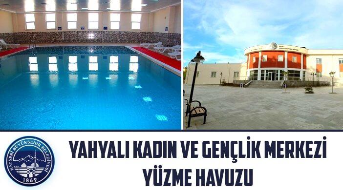 Kayseri Büyükşehir Belediyesi Yahyalı Kadın ve Gençlik Merkezi Yüzme Havuzu