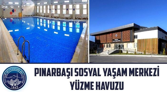 Kayseri Pınarbaşı Sosyal Yaşam Merkezi Yüzme Havuzu