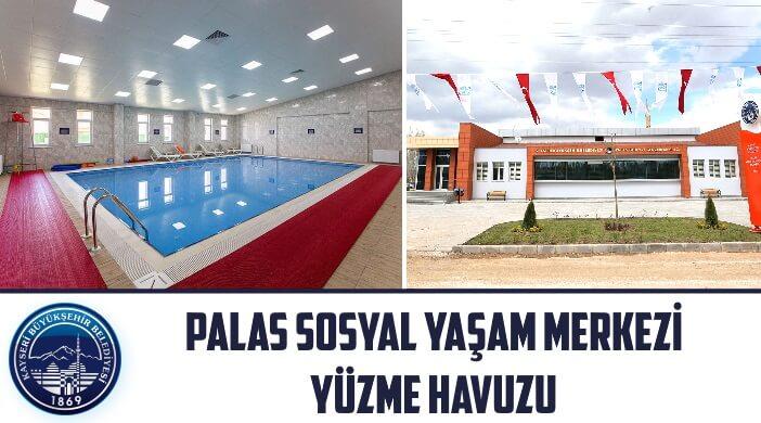 Kayseri Sarıoğlan - Palas Kadın ve Gençlik (Sosyal Yaşam) Merkezi Yüzme Havuzu