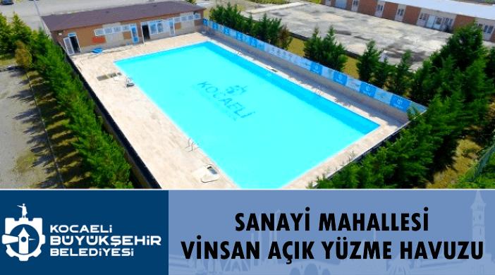 Kocaeli Büyükşehir Sanayi Mahallesi Vinsan Yüzme Havuzu