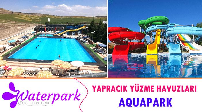 Ankara Çiçektepe Waterpark Yapracık Aquapark Yüzme Havuzları