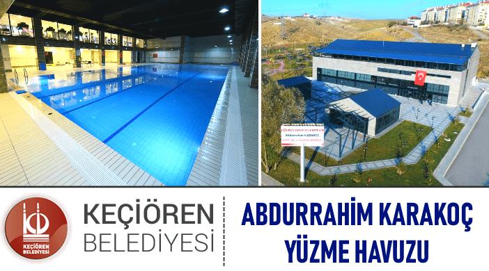 Keçiören Belediyesi Abdurrahim Karakoç Yüzme Havuzu