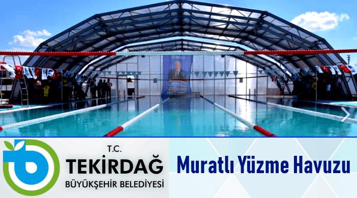 Tekirdağ Büyükşehir Belediyesi Muratlı Yarı Olimpik Yüzme Havuzu