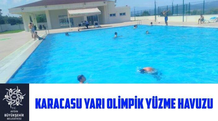 Aydın Karacasu Yarı Olimpik Yüzme Havuzu