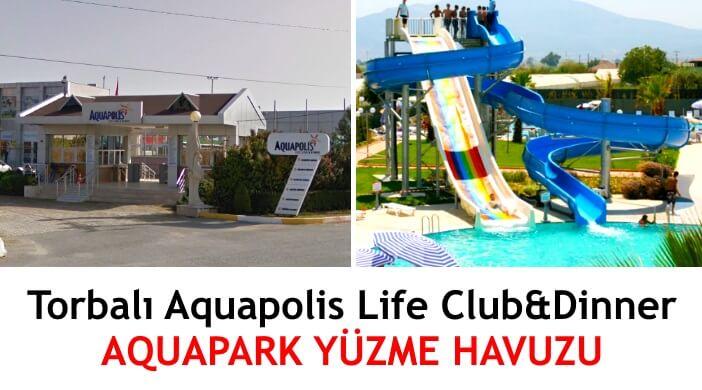 İzmir Torbalı Aquapolis Aquapark Yüzme Havuzu