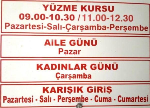 İzmir Torbalı Aquapolis Aquapark Yüzme Havuzu Seans Gün Saatleri