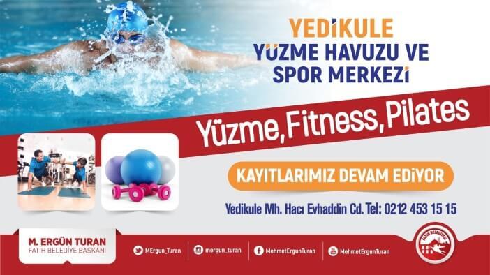 Fatih Belediyesi Yedikule Spor Toto Yüzme Havuzu Kayıt Telefon Numarası