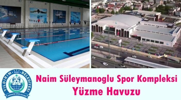 Bursa Yıldırım Belediyesi Naim Süleymanoğlu Spor Kompleksi Yüzme Havuzu